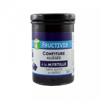 Confiture allégée myrtille - 250 g