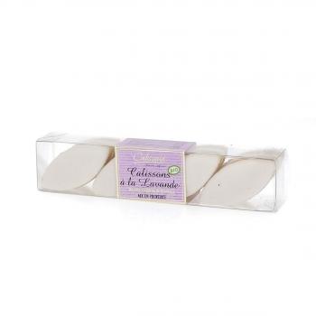 Réglette de Calissons d'Aix à la Lavande bio, 90 g