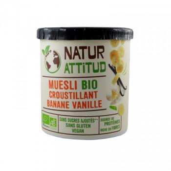 Muesli Bio Banane Vanille - 250 g