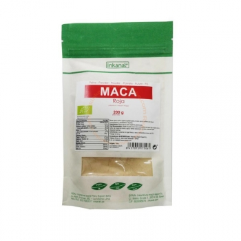 Maca Rouge Bio, Vegan - 200g