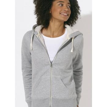 Veste sherpa bio sweat shirt mode éthique équitable sportwear