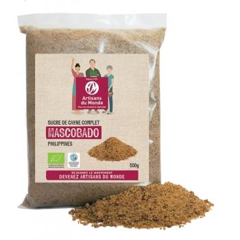Sucre Mascobado bio - 500g - Philippines