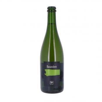 Cidre Basque Basandere bio : La Dame Sauvage, 75 cl (6,5% vol.)