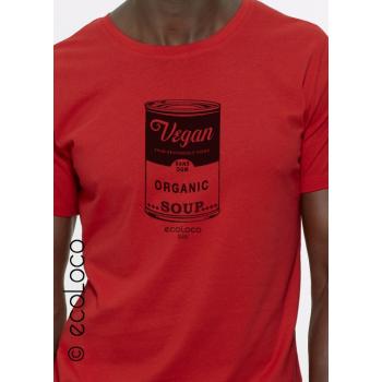 T-shirt bio VEGAN militant creation engagée sans ogm France artisan