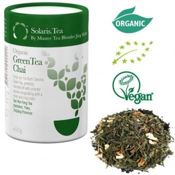 Thé vert chai bio- en vrac