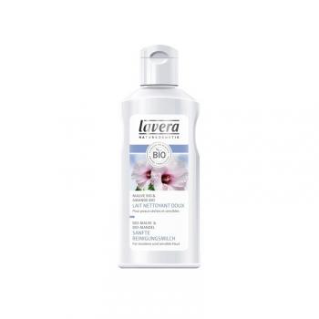 Lait nettoyant doux bio - Lavera - 125 ml