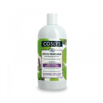 Shampooing Purifiant Bio Détox Fraîcheur Bio, Vegan - Cheveux gras - 500ml