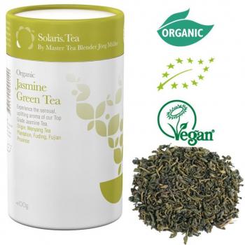 Thé vert au jasmin biologique - en vrac