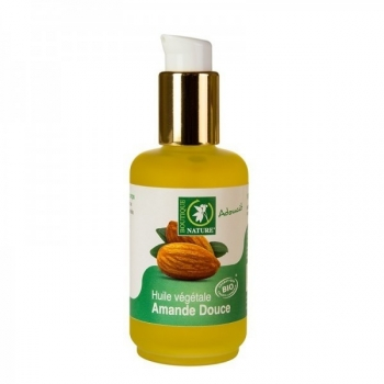 Huile végétale Amande douce Bio - 50 ml