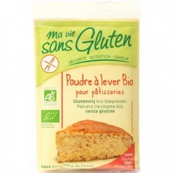 Poudre à Lever Bio pour Pâtisseries 4x10g-Ma Vie Sans Gluten