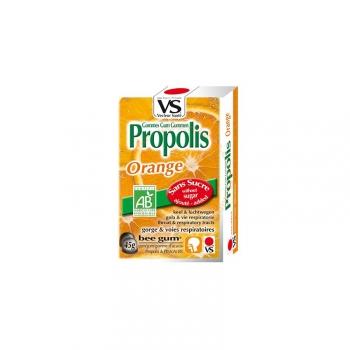 Gommes à Sucer Propolis Bio - Orange - 45g