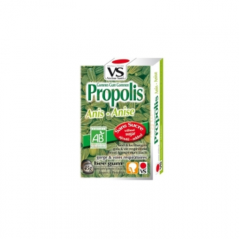 Gommes à Sucer Propolis Bio - Anis - 45g