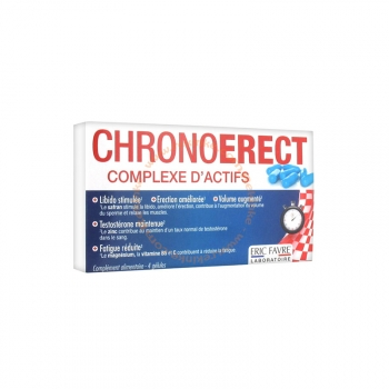 Chronoerect - 4 gélules de 714mg