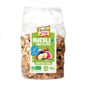 Muesli Sans Gluten 500g-Grillon d'Or