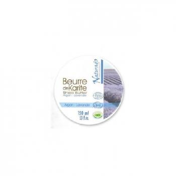 NATURADO - Beurre de Karité Bio Argan Lavande 150ml