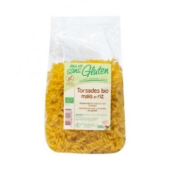 MA VIE SANS GLUTEN - Torsades maïs riz bio & sans gluten