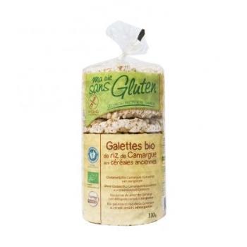 MA VIE SANS GLUTEN - Galettes de riz de Camargue aux céréales anciennes bio & sans gluten