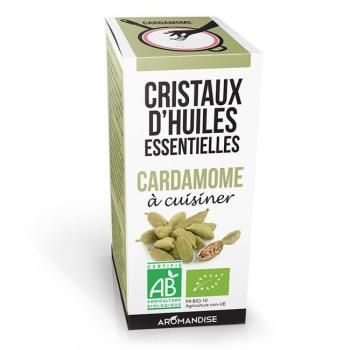 AROMANDISE - Cristaux d'huiles essentielles Cardamome bio 10g