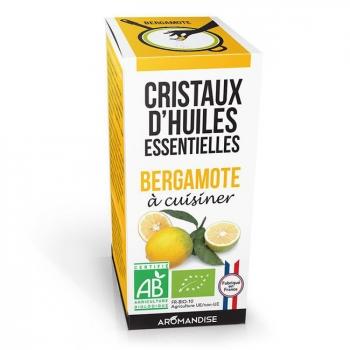 AROMANDISE - Cristaux d'huiles essentielles Bergamote bio 10g