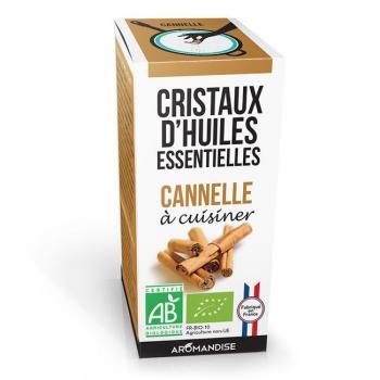 AROMANDISE - Cristaux d'huiles essentielles Cannelle bio 10g