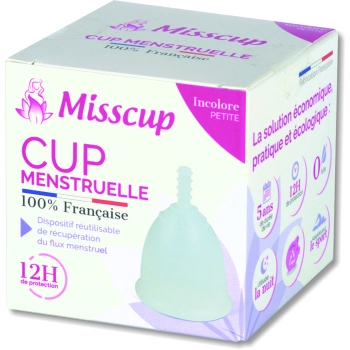 Misscup, incolore 20 ml (petite)
