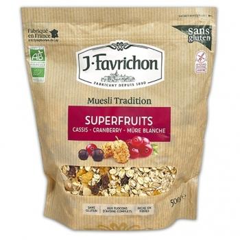 Muesli Superfruits 400g - Joseph Favrichon