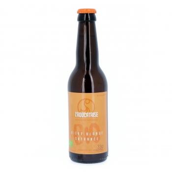 Bière Blonde Safranée artisanale bio, 33 cl (4,5% vol.)