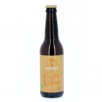 Bière Blonde artisanale bio, 33 cl (4,8% vol.)