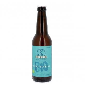 Bière Blanche artisanale bio, 33 cl (4,8% vol.)
