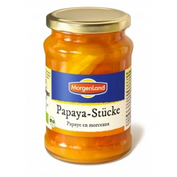 Papaye en morceaux 350g-MorgenLand