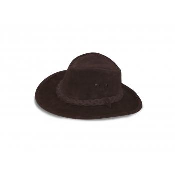 Chapeau cuir de vachette type Australien