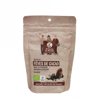 Fèves de cacao Bio 140g