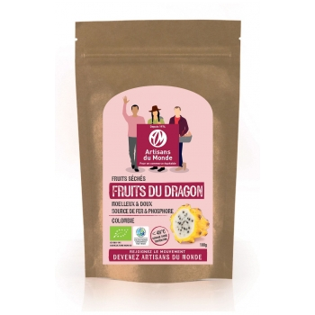Fruits du dragon séchés Bio 100g
