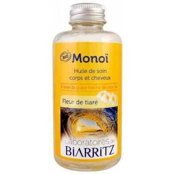 Huile de Monoï et Amande amère Bio - 100 ml