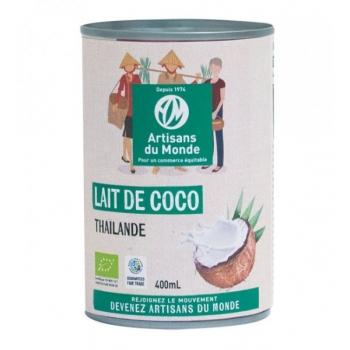 Lait de coco bio et équitable - 400 ml