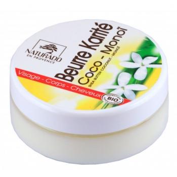 Beurre de Karité coco Monoï Bio - 150 ml