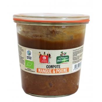 Compote Bio Pomme Mangue 450g
