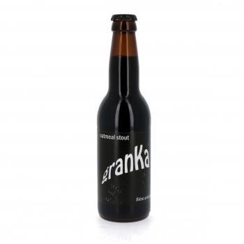 Bière Noire Douce Bio - Oatmeal Stout Artisanale, 33 cL (5.5%)