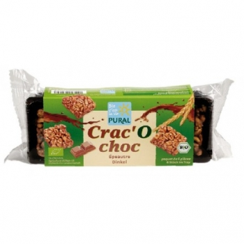 Crac'O choc Epeautre 80g-Pural
