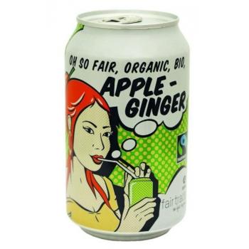 Jus pétillant pomme gingembre Bio