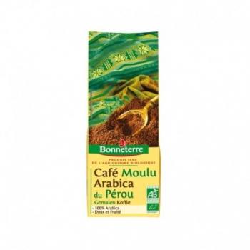 Café moulu Arabica du Pérou 250g-Bonneterre