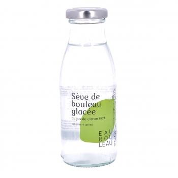 Sève de bouleau glacée au jus de citron vert bio, 25 cl