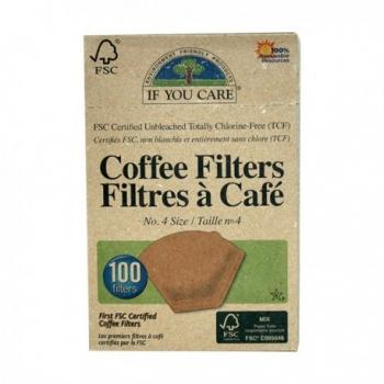 Filtres à Café n°4 (100 filtres)-If You Care