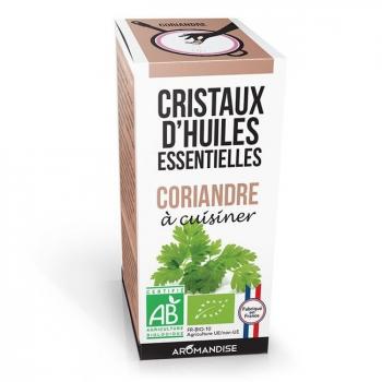 AROMANDISE - Cristaux d'huiles essentielles Coriandre bio 10g