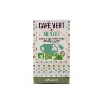 Café Vert Menthe Bio - 20 sachets