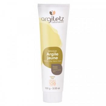 Masque Argile Jaune 100 % naturelle - 100 g