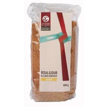 Boulgour brun épais du commerce équitable - 500g
