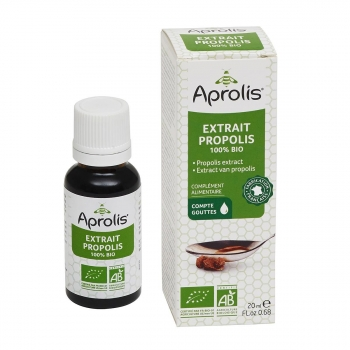 Extrait de Propolis 100% 20ml Bio - Aprolis