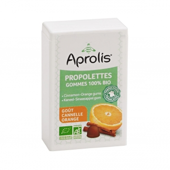 Propolettes Cannelle-Orange 50g Bio - Aprolis