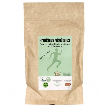Protéines végétales Oméga 3 Bio - sachet 300g